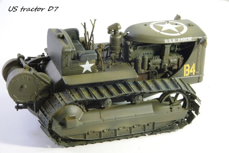 Miniart US tractor D7N 1/35 Imgp6647