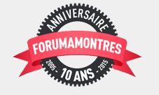 Forumamontres : les 10 ans Logo1010