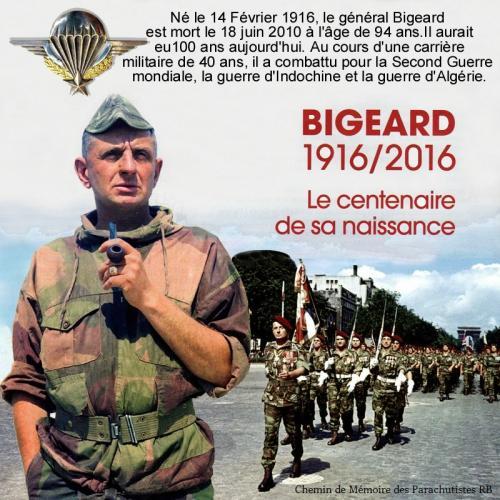 Général BIGEARD anniversaire naissance 100 ans