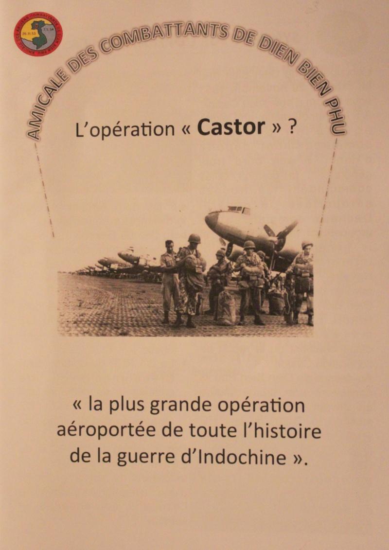 """62e anniversaire de l'OPERATION """"CASTOR"""" et de la bataille de DIEN BIEN PHU"""