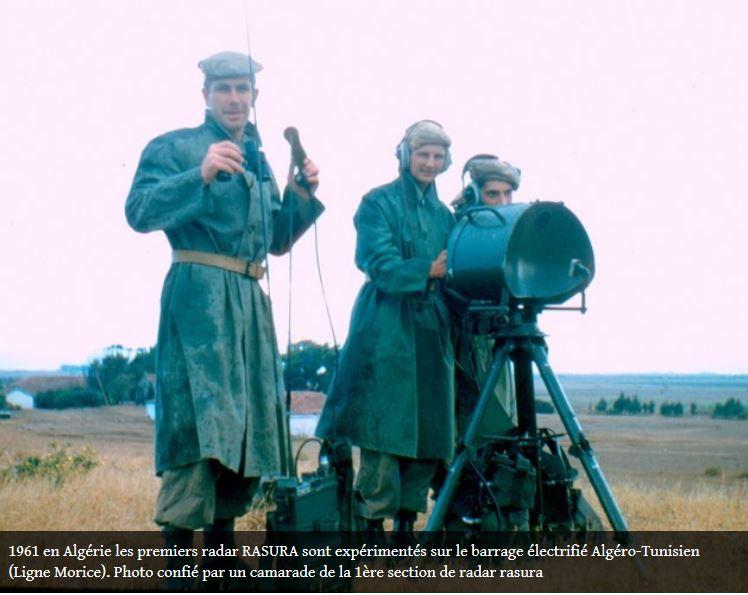 1961 - RASURA en Algérie: les premiers radars RASURA expérimentés sur le barrage électrifié algéro-tunisienn Rasura10