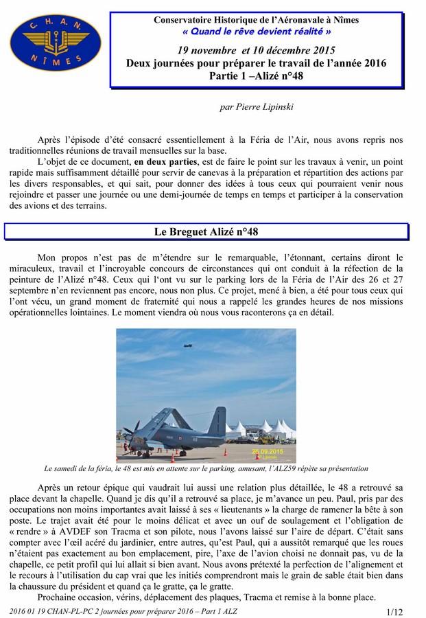 [Associations anciens marins] C.H.A.N.-Nîmes (Conservatoire Historique de l'Aéronavale-Nîmes) - Page 4 2016_020