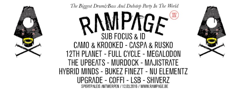 [ RAMPAGE - 12 MARS 2016 - SPORTPALEIS ANVERS - BELGIQUE ] Rampag10