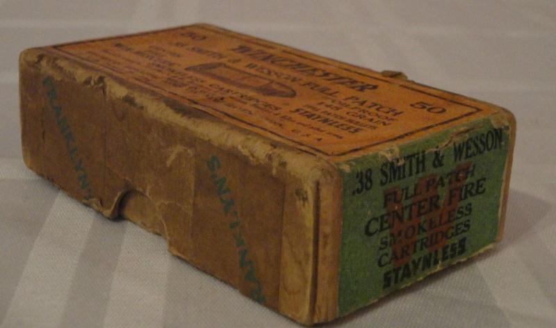 """Boites de munitions US """"old west"""" 3-410"""