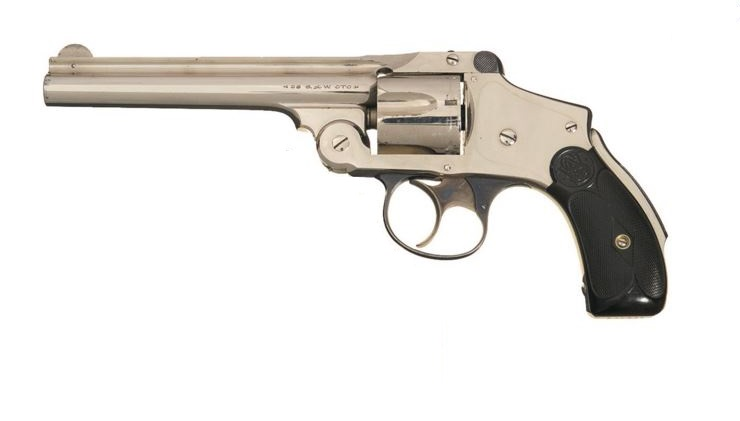 Smith & Wesson Safety Second Model cal 38 D.A 5_pouc10