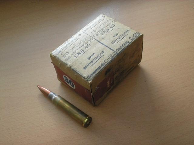Cartouches 7.65 mm modéle 89 Belge110
