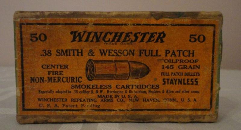 """Boites de munitions US """"old west"""" Face10"""
