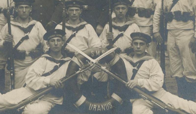 Photos de marins de l'époque impériale allemande. Syge10
