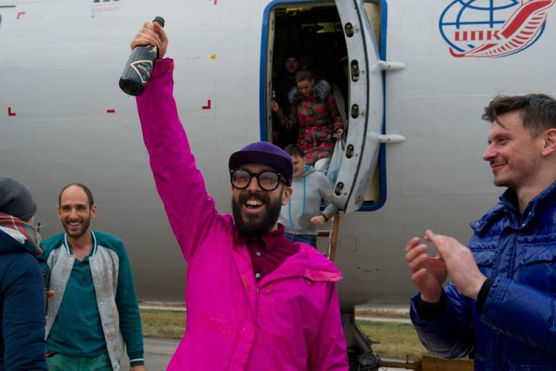 Le clip du groupe OK Go en microgravité 12672010