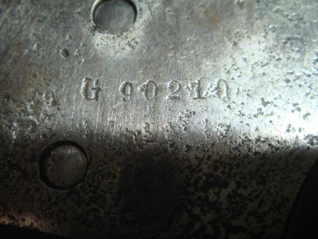 Question sur le barillet du révolver français mle 1873 de Marine Dsc09432