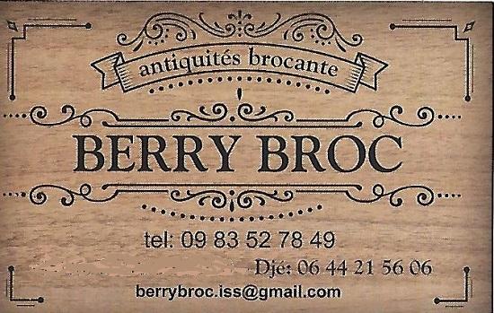 g19. ISSOUDUN (Indre) - BERRY BROC - Antiquités Brocante - Vide Maison - Débarras tous locaux  Berry_11