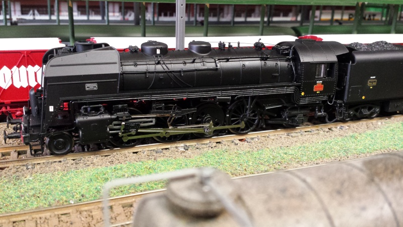 Mes locomotives à vapeur...  Hornby-Jouef 20151210