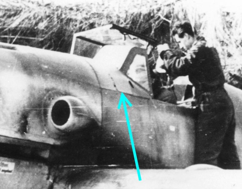 Messerschmitt Bf 109 G-10, production Erla Bf_10950