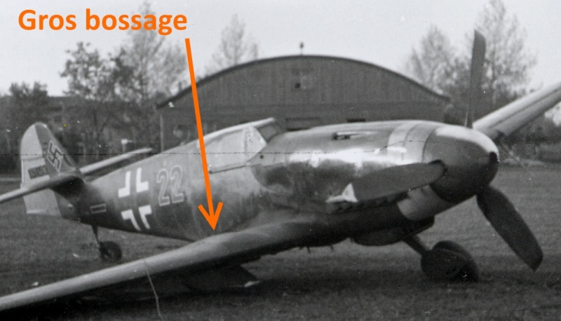Messerschmitt Bf 109 G-10, production Erla Gros_b10