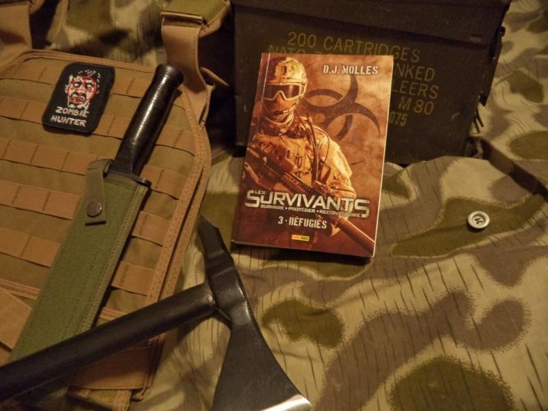 [Littérature zombie] Les survivants, par D.J. Molles Dsc05410