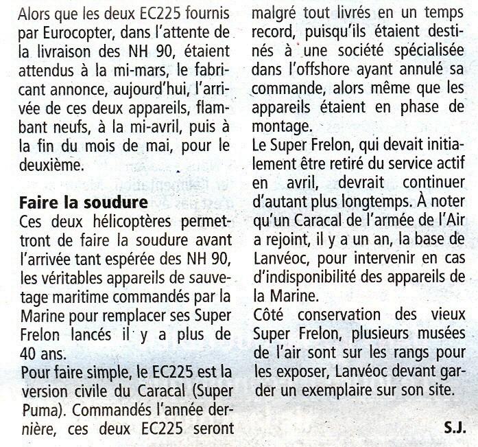 [Aéronavale divers] SUPER FRELON - Page 8 Ec225_11