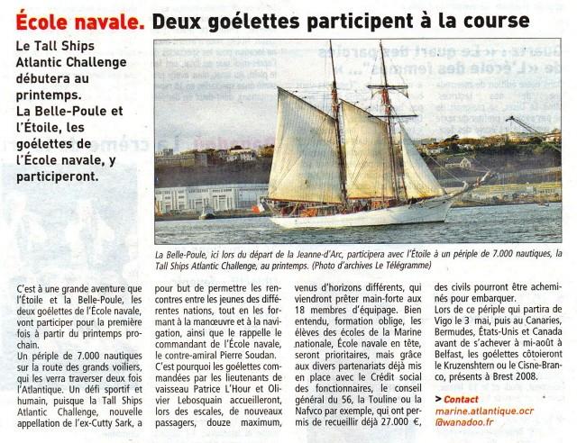 L'ÉTOILE ET LA BELLE-POULE (BE) - Page 4 Goelet11