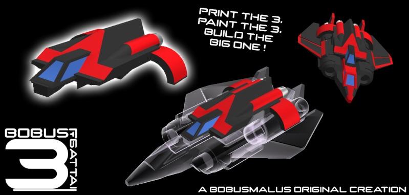 Imprimante 3D - navette d'ulysse 40cm... (page 3) - Page 3 Gattai12