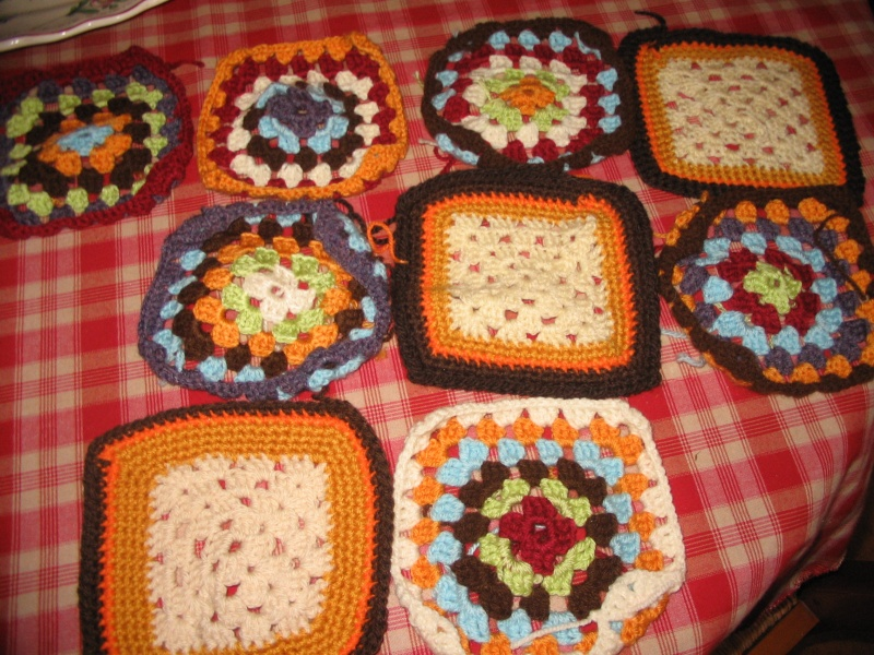 mes granny squares Img_1212