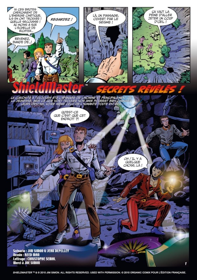 ShieldMaster (Organic comix) St0-0310
