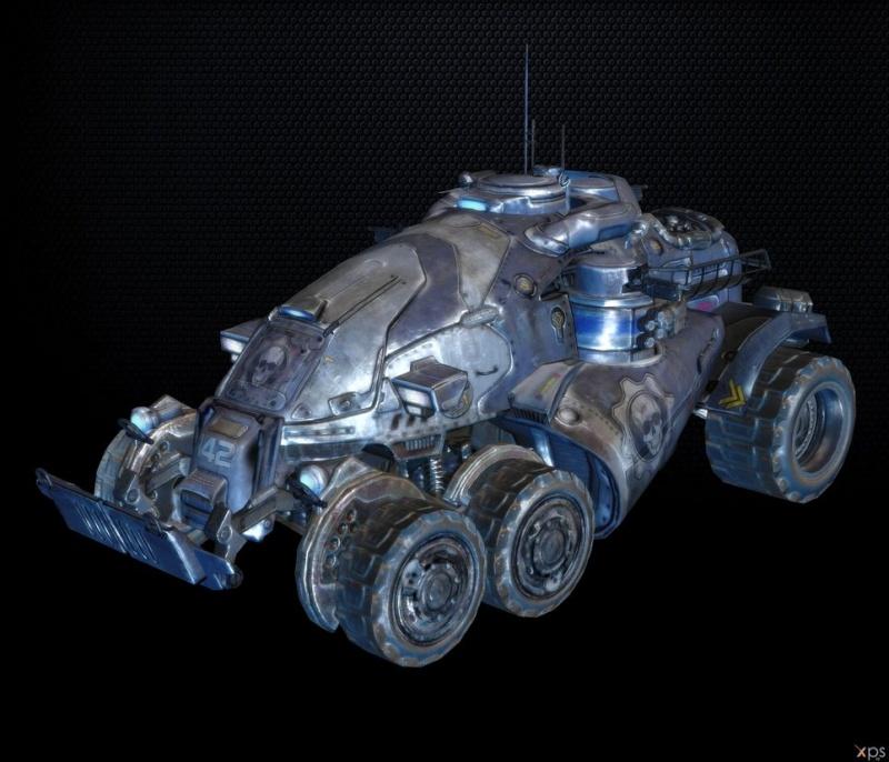 GEARS OF WAR  ARMADILLO et KING RAVEN F32e1310
