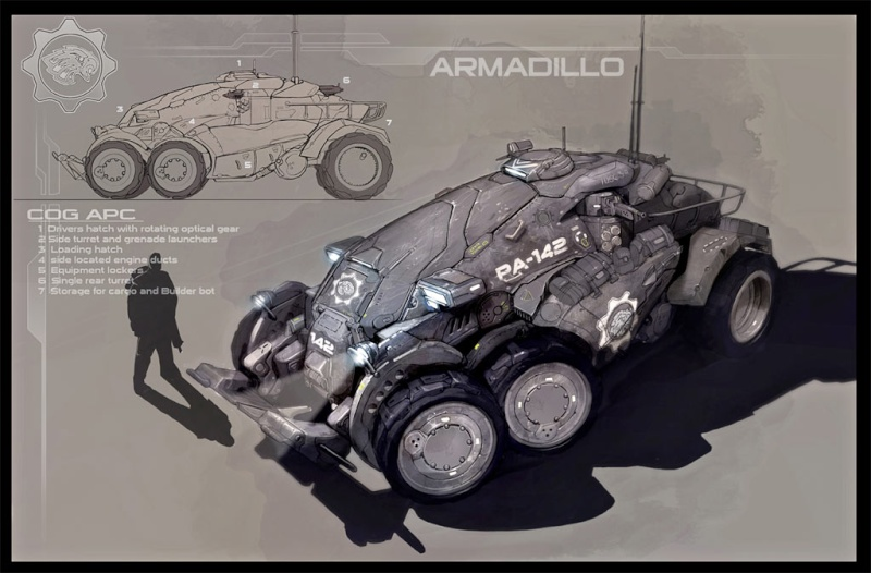 GEARS OF WAR  ARMADILLO et KING RAVEN Pic_ge10