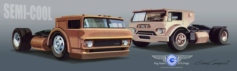 Ford C 600 inspiration Gary Campesi 11058510