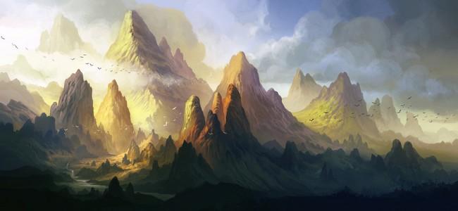 Montagnes et glaciers  Montag10