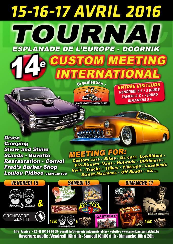 14éme custom meeting international TOURNAI(B) 12592218