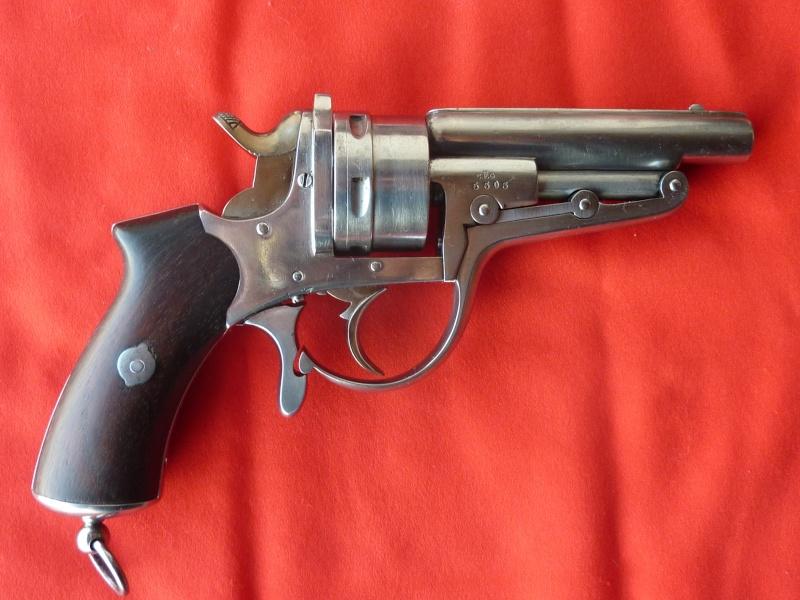 Revolver Galand modèle 1868 (2ème type) Galand11