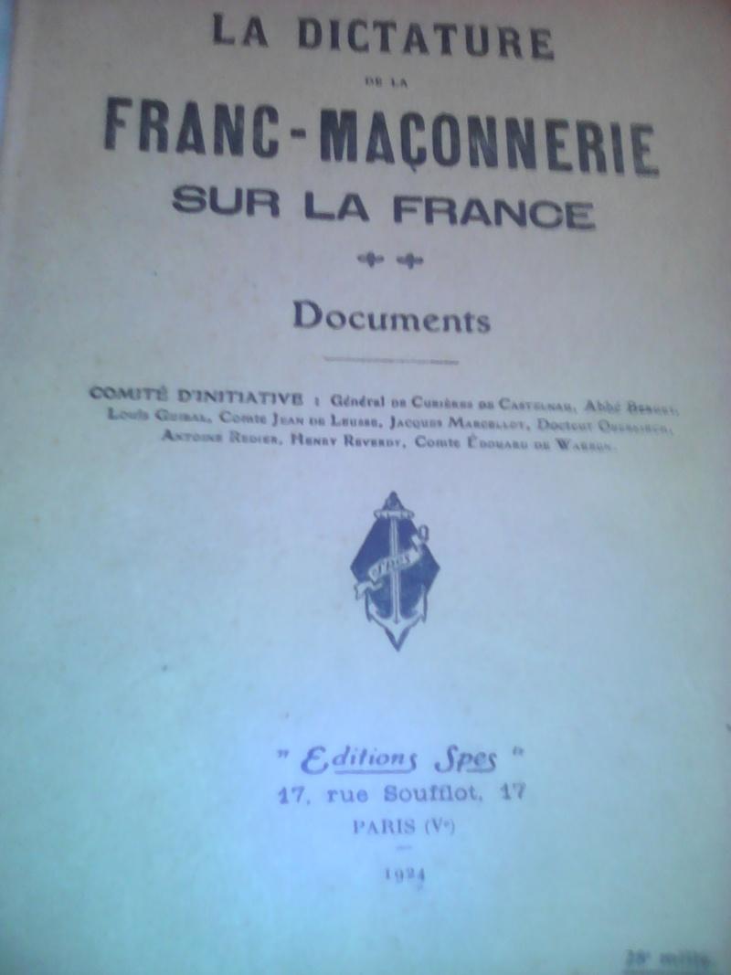 La dictature de la franc-maçonnerie sur la France, extraits inédits! Img_2010