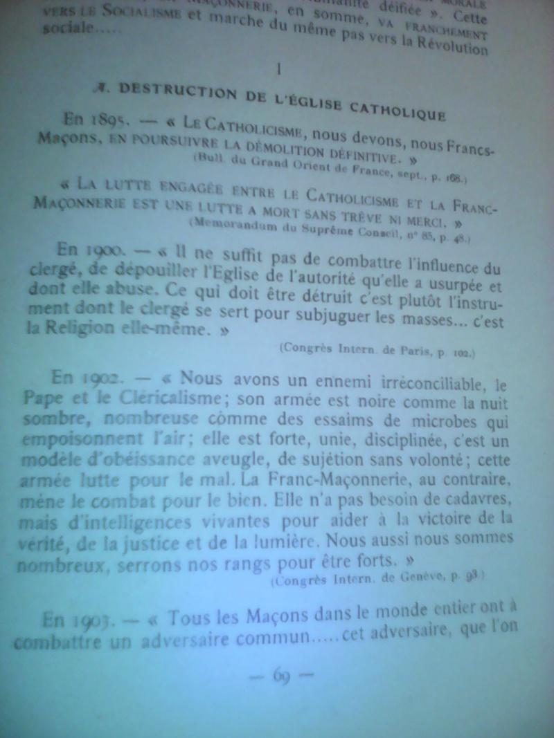 La dictature de la franc-maçonnerie sur la France, extraits inédits! Img_2013