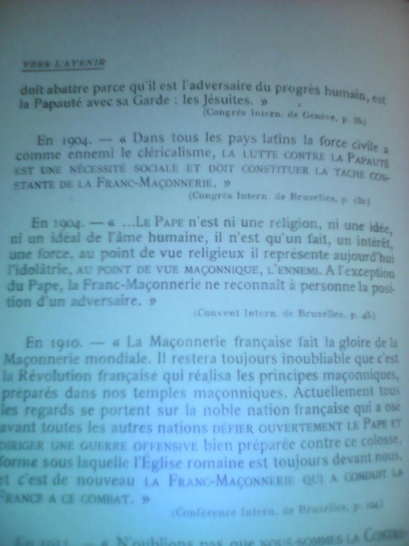 La dictature de la franc-maçonnerie sur la France, extraits inédits! Img_2014