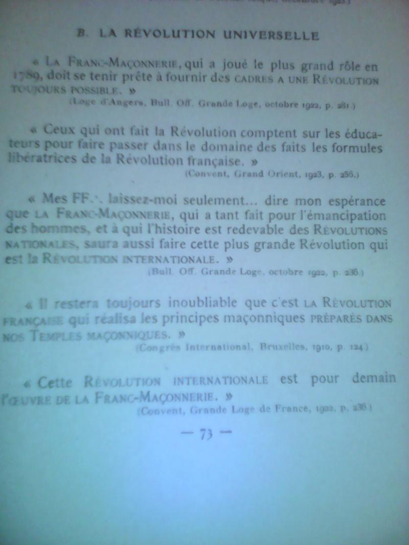 La dictature de la franc-maçonnerie sur la France, extraits inédits! Img_2019