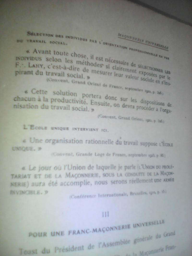 La dictature de la franc-maçonnerie sur la France, extraits inédits! Img_2029