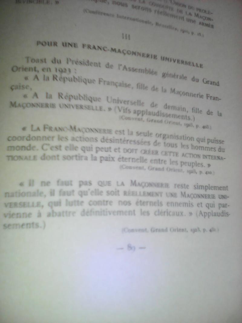 La dictature de la franc-maçonnerie sur la France, extraits inédits! Img_2030