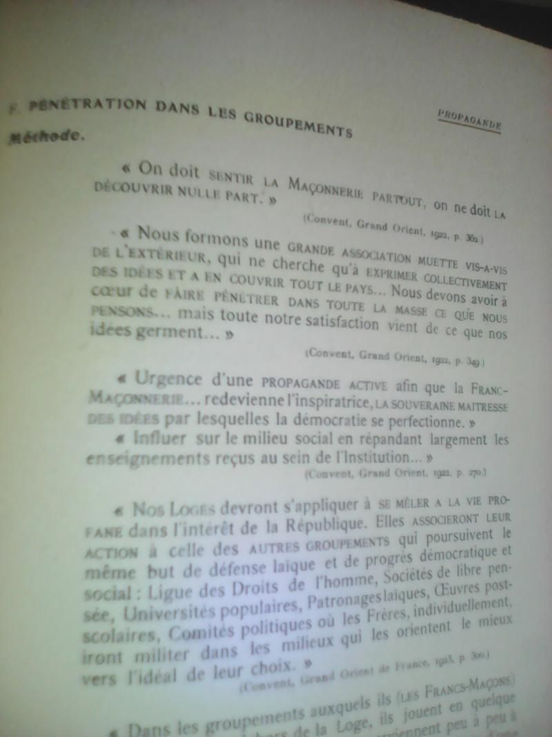 La dictature de la franc-maçonnerie sur la France, extraits inédits! Img_2032