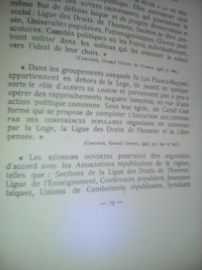 La dictature de la franc-maçonnerie sur la France, extraits inédits! Img_2033
