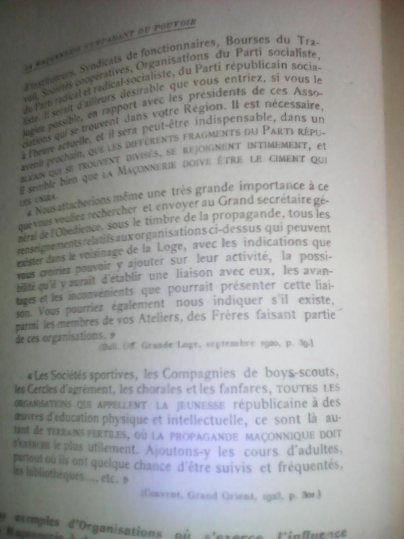 La dictature de la franc-maçonnerie sur la France, extraits inédits! Img_2035
