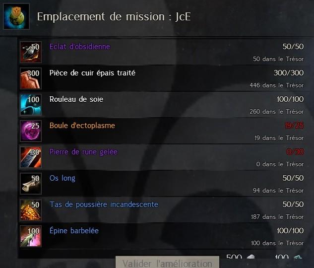 Emplacement de mission : JcE Missio26