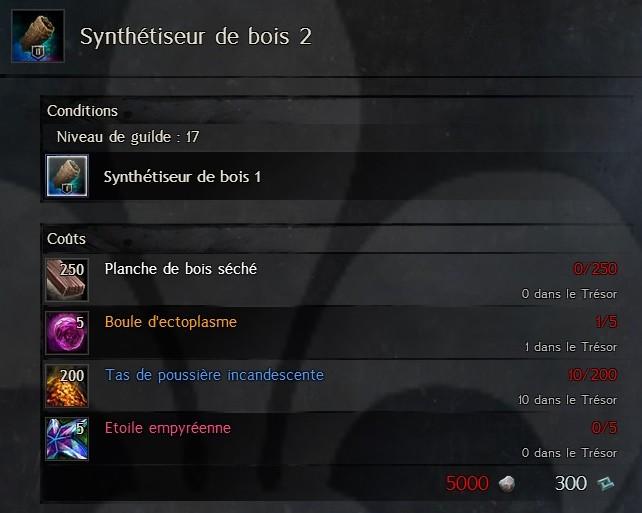 Synthétiseur de bois 2 Synthe36