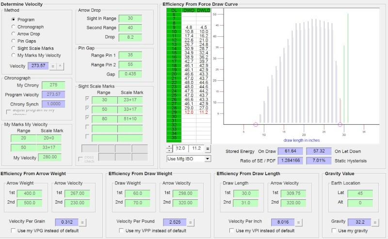 Choix spin fleches pouli 45/50lbs nature et 3d Captur11