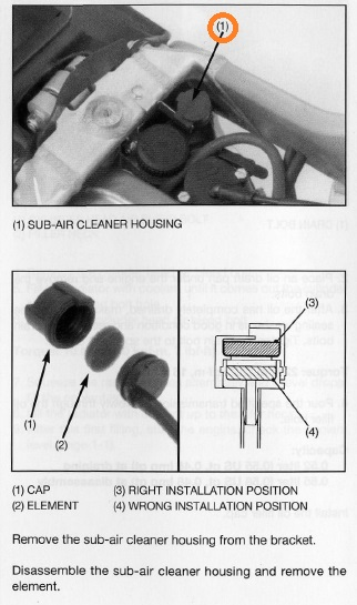 Sous-filtre à air 315R 315_b10