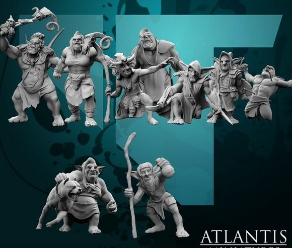 Atlantis miniatures, des jolies choses en med-fan Captur11
