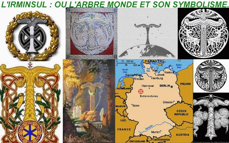 L'IRMINSUL : OU L'ARBRE MONDE ET SON SYMBOLISME. 12238410