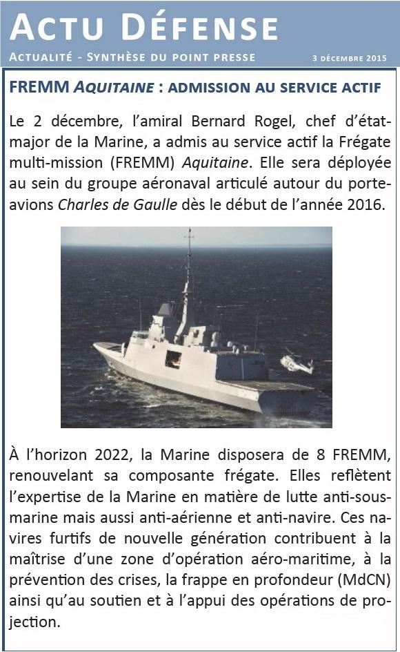 FREMM Aquitaine (D650) - Page 3 Actu10