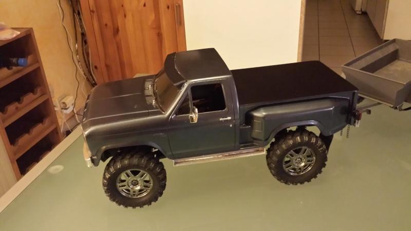 Pick up ford f150 1980 blackfoot, et f150 1992 20160212