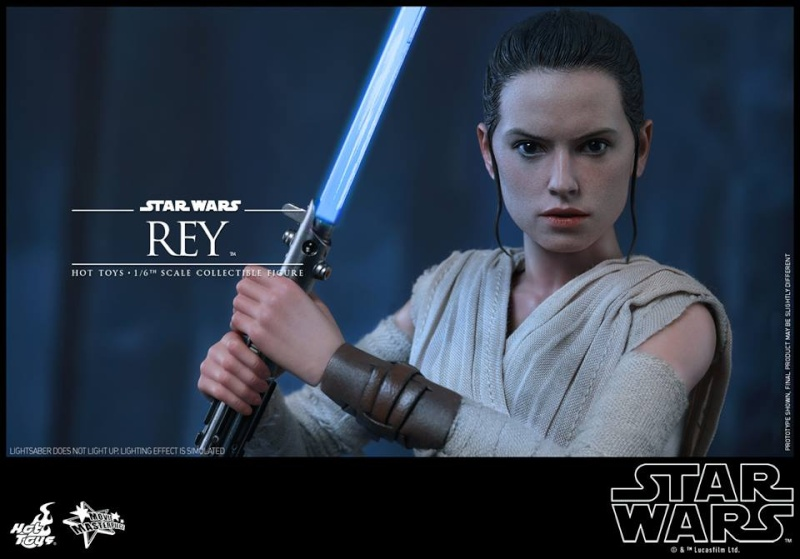 Hot Toys Star Wars TFA 1/6th Scale Rey et BB-8 12494810