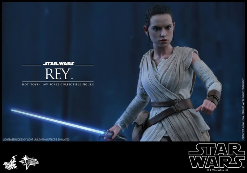 Hot Toys Star Wars TFA 1/6th Scale Rey et BB-8 12508910