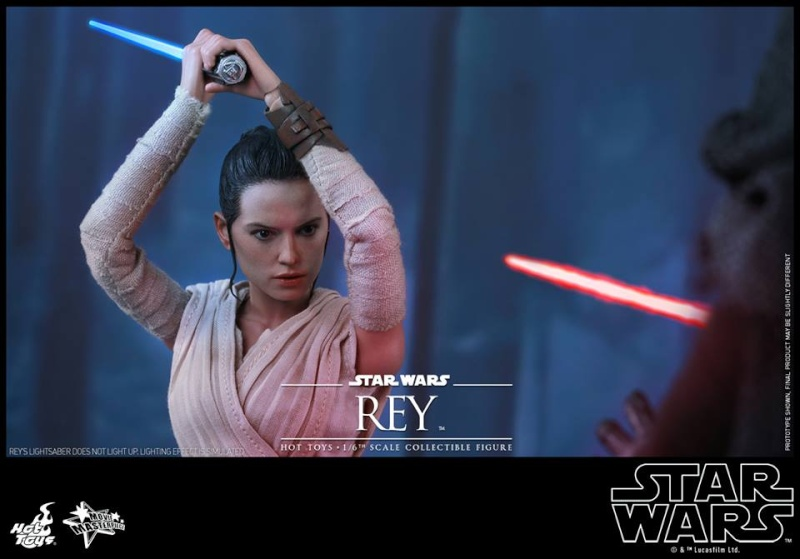 Hot Toys Star Wars TFA 1/6th Scale Rey et BB-8 12541010